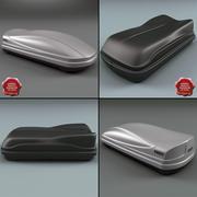 지붕 상자 컬렉션 3d model