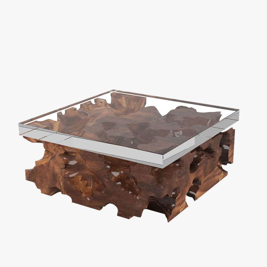 Hudson Furniture Teak Root Couchtisch 3d Modell 39 3ds Obj Fbx