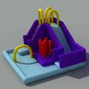 Inflatable Playground 3d model