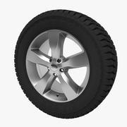 Jeep Wheel (verplaatsing) 3d model
