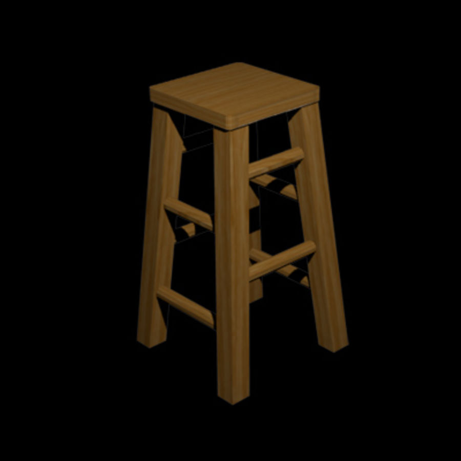 Tavern Assets royalty-free 3d model - Preview no. 8