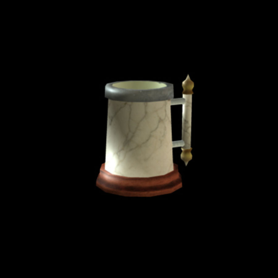 Tavern Assets royalty-free 3d model - Preview no. 9
