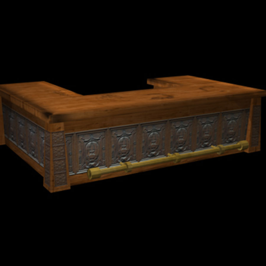 Tavern Assets royalty-free 3d model - Preview no. 3