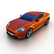 Aston Martin Virage 2012 3d model
