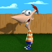 Phineas 3d model