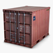 Container 10ft 3d model
