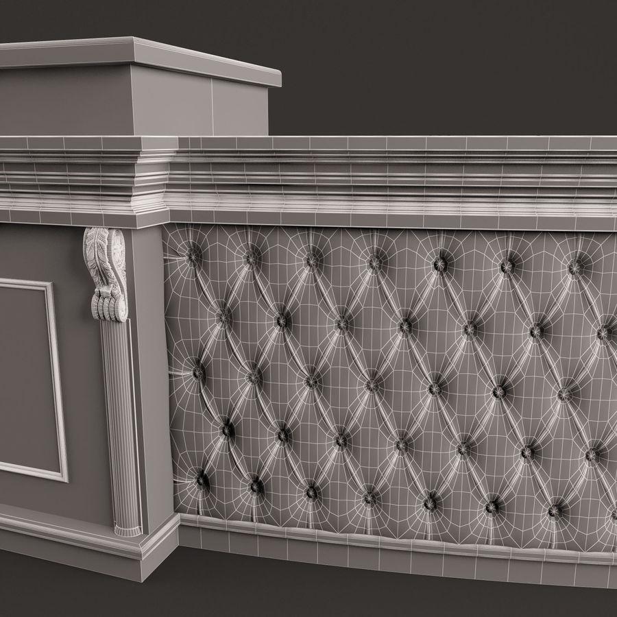 Resepsiyon masası royalty-free 3d model - Preview no. 12