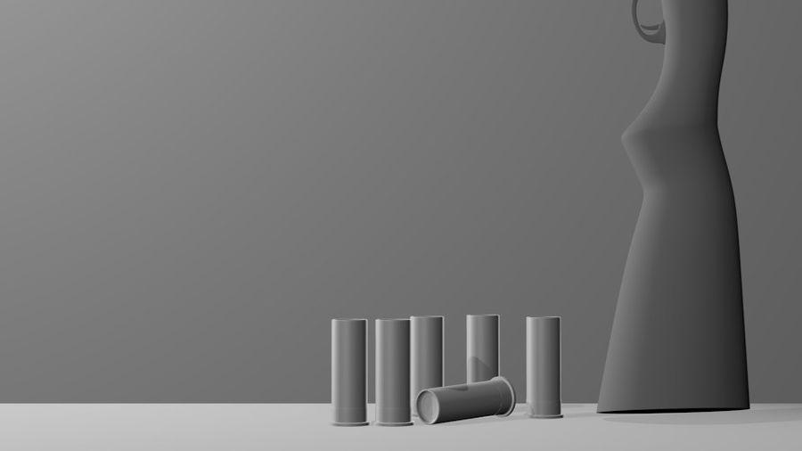 Оружие royalty-free 3d model - Preview no. 5