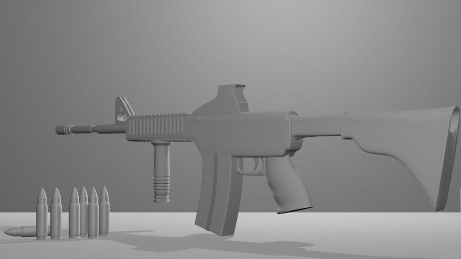Оружие royalty-free 3d model - Preview no. 2