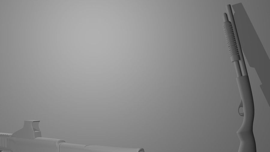 Оружие royalty-free 3d model - Preview no. 4