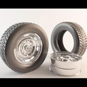 Neumático modelo 3d