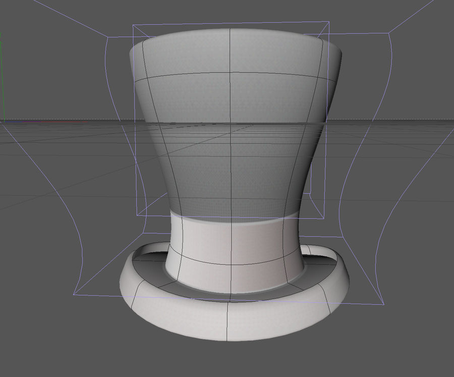 ślubny cylinder royalty-free 3d model - Preview no. 2