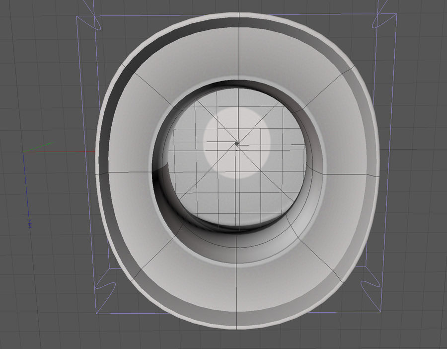 ślubny cylinder royalty-free 3d model - Preview no. 4