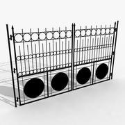 Żelazna brama 1 3d model