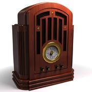 старинное радио 3d model