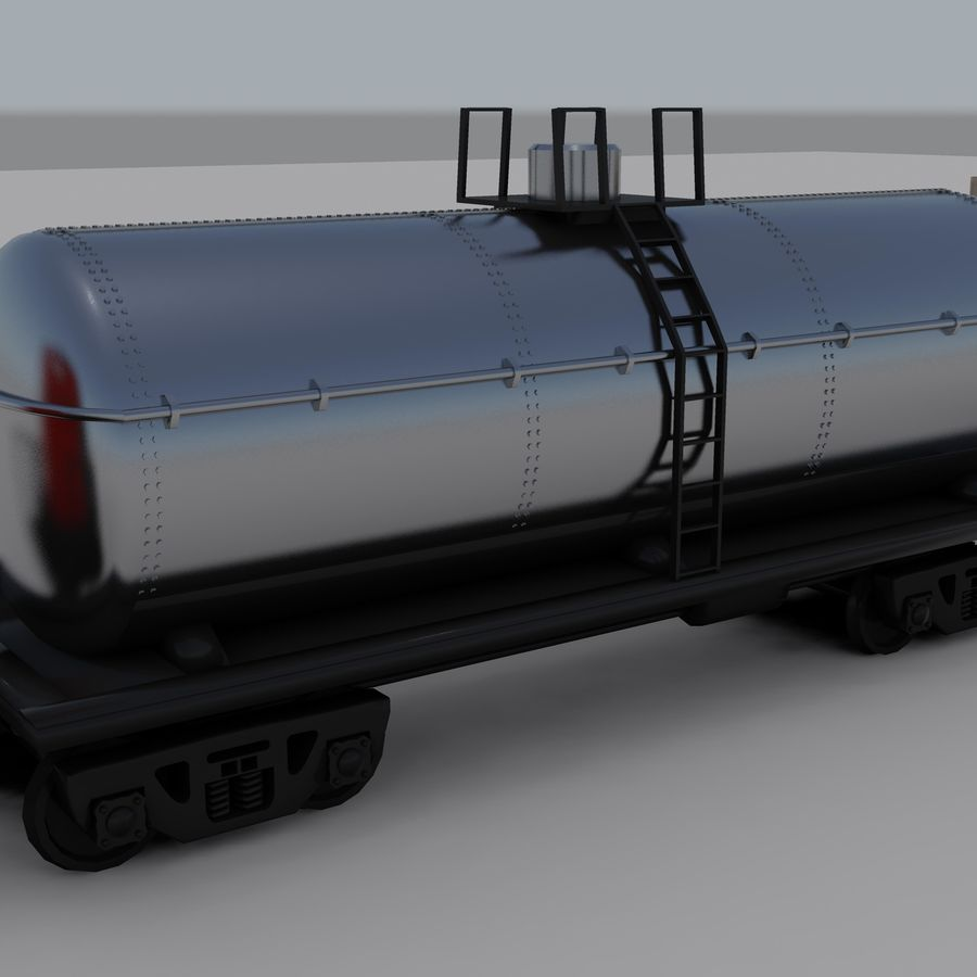 Trem de carga 2 royalty-free 3d model - Preview no. 7