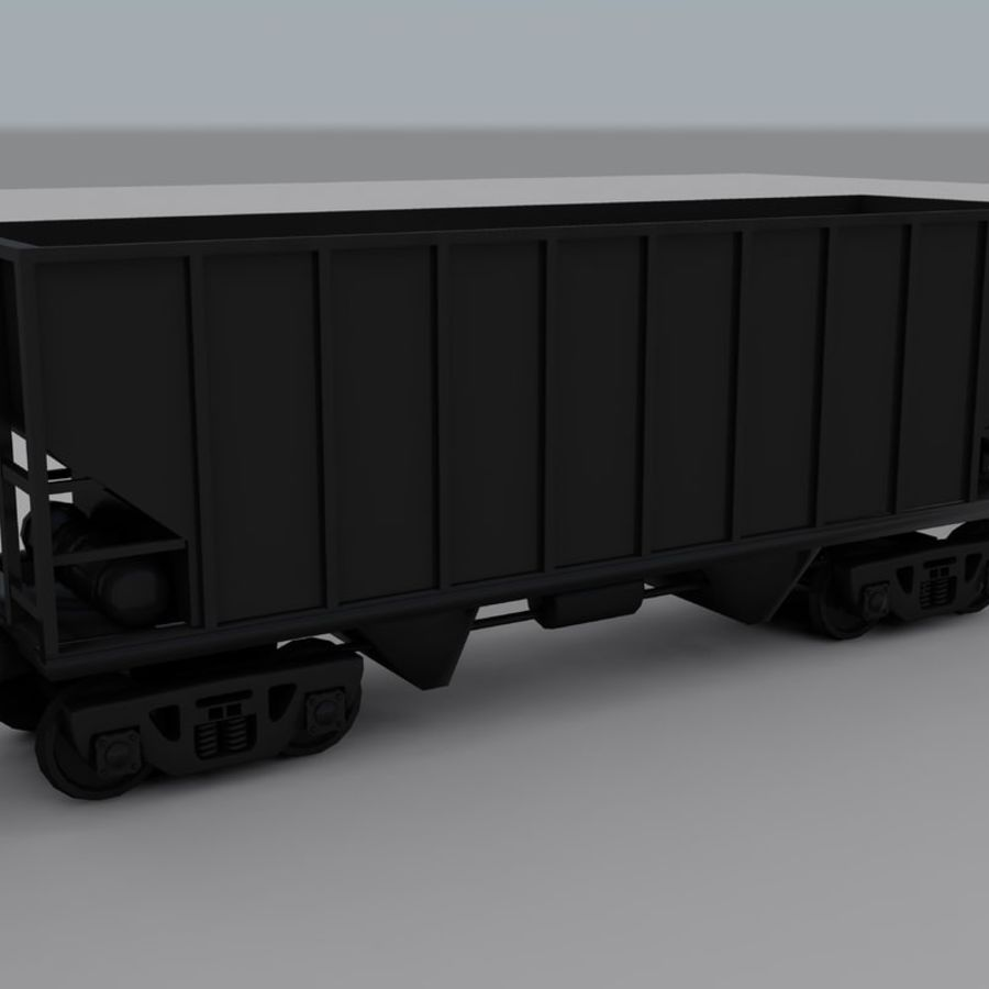 Trem de carga 2 royalty-free 3d model - Preview no. 11