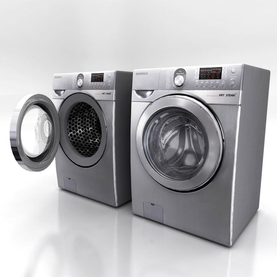 세탁기 E royalty-free 3d model - Preview no. 3