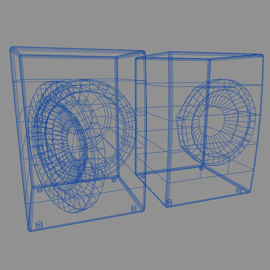 세탁기 E royalty-free 3d model - Preview no. 2