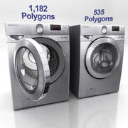 세탁기 E 3d model