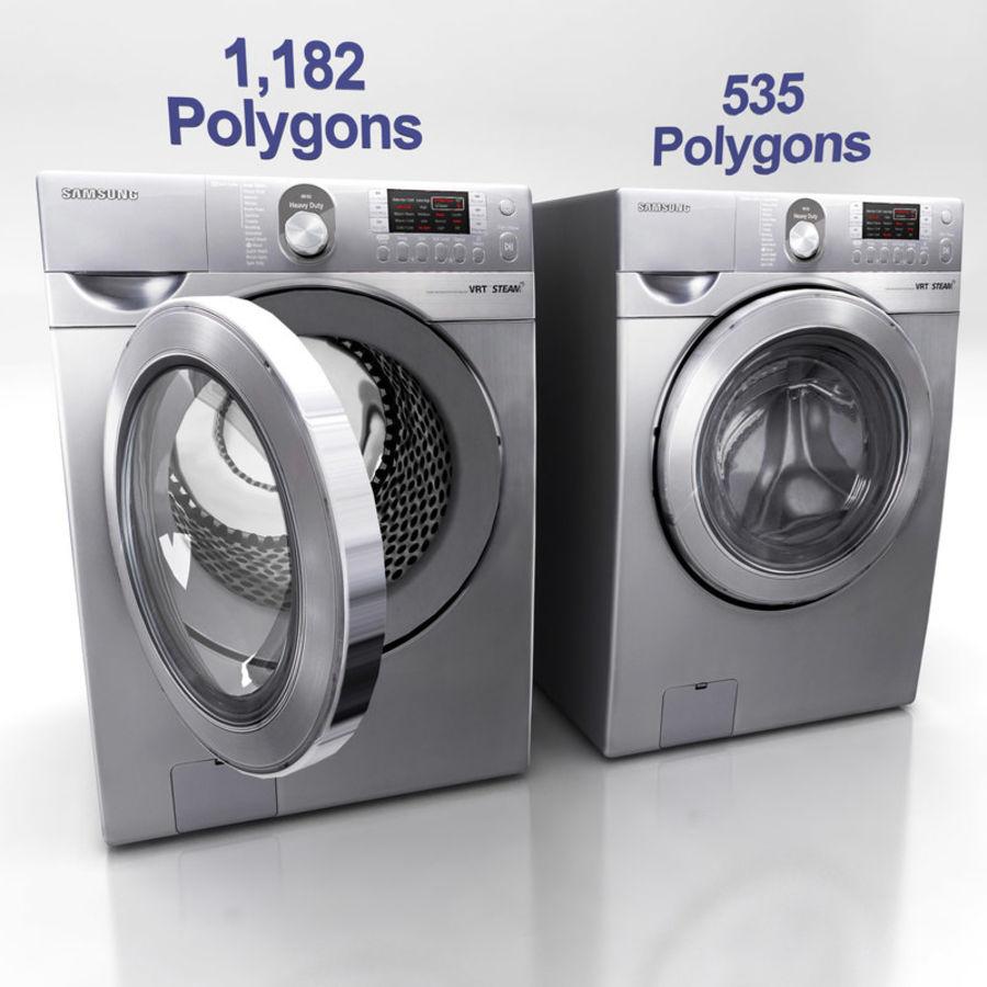 세탁기 E royalty-free 3d model - Preview no. 1