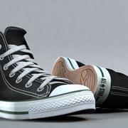 3d sneakers. Shoe converse 3d model