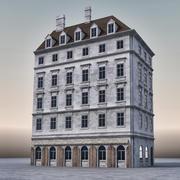 European Building 005 3d model