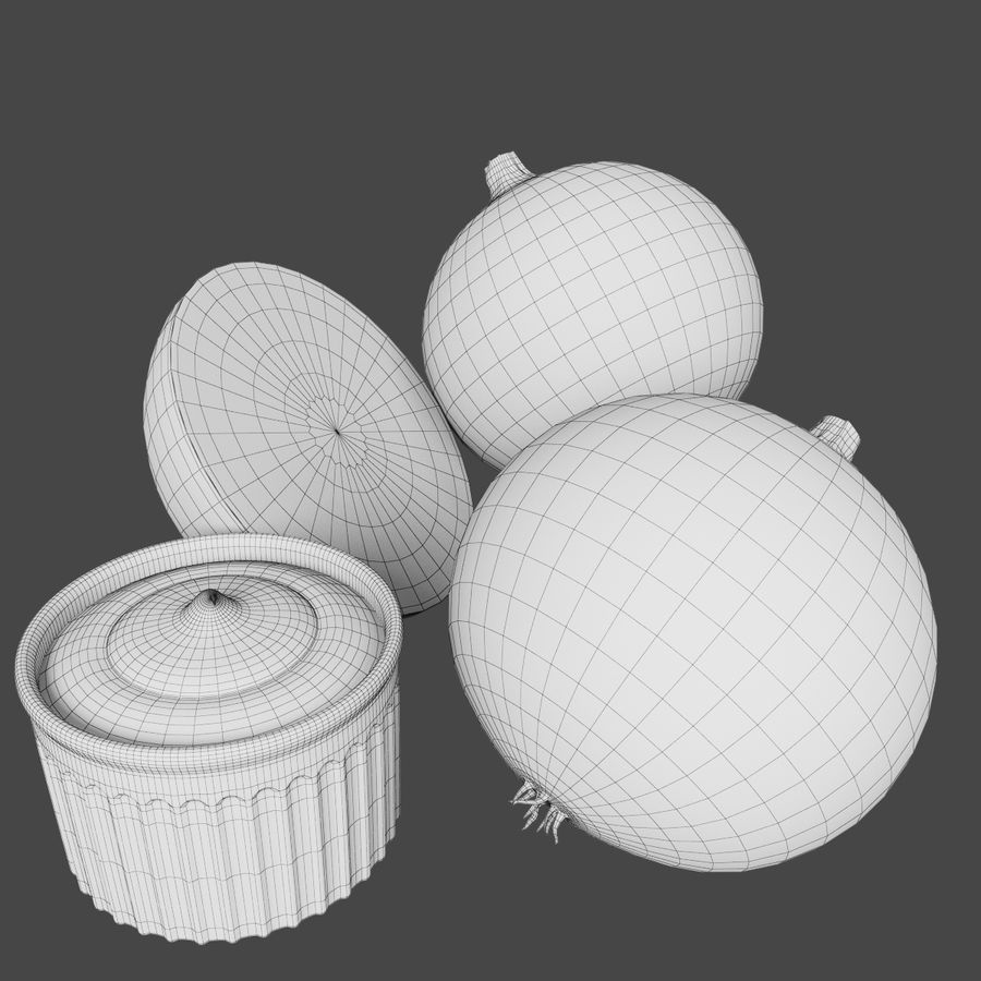 Onion royalty-free 3d model - Preview no. 6