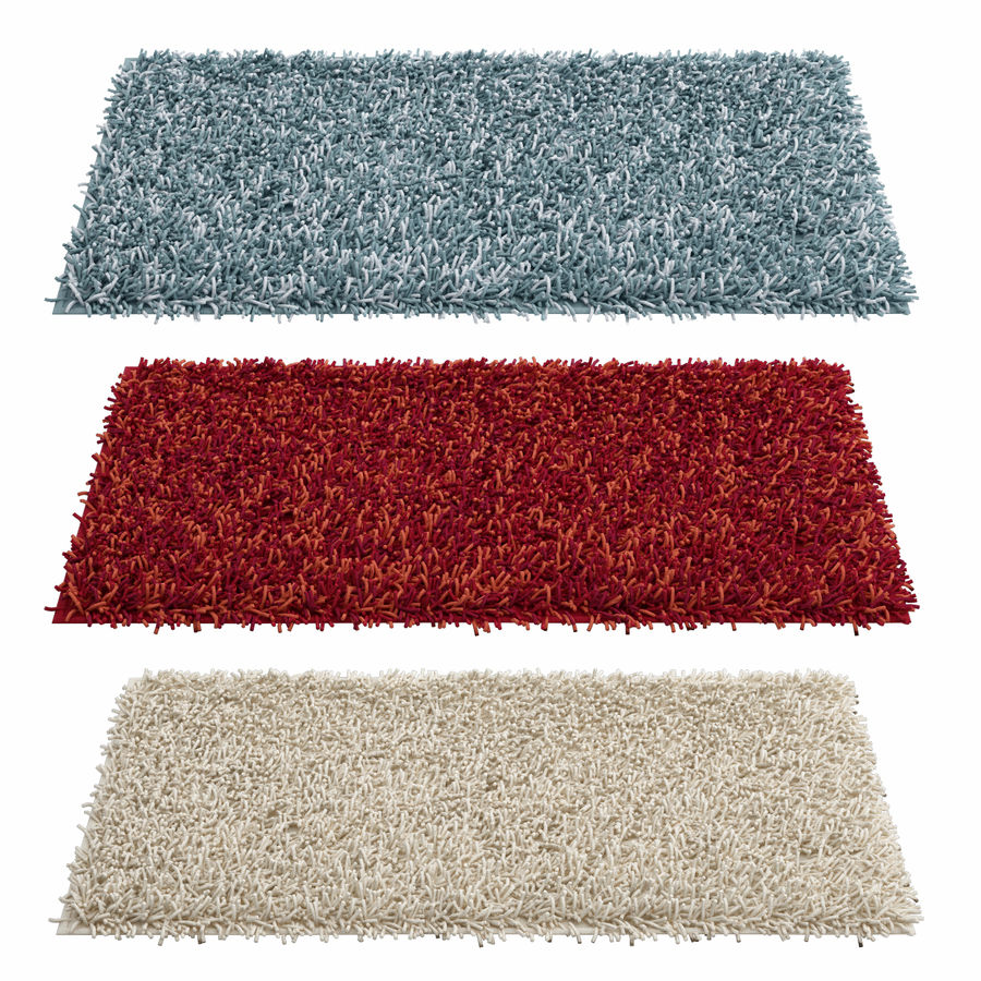 Rug Cuks royalty-free 3d model - Preview no. 1