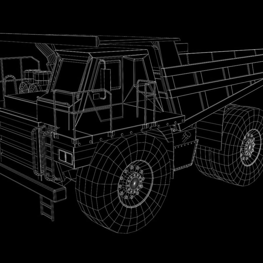 Dump Truck 2 royalty-free 3d model - Preview no. 13