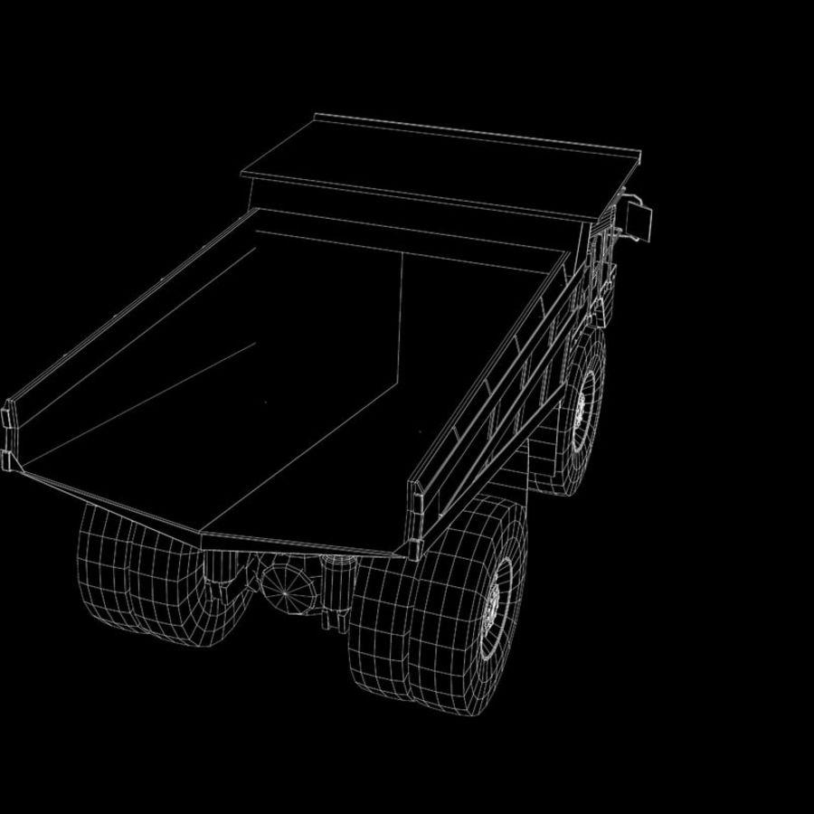 Dump Truck 2 royalty-free 3d model - Preview no. 16