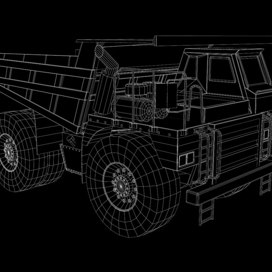 Dump Truck 2 royalty-free 3d model - Preview no. 14