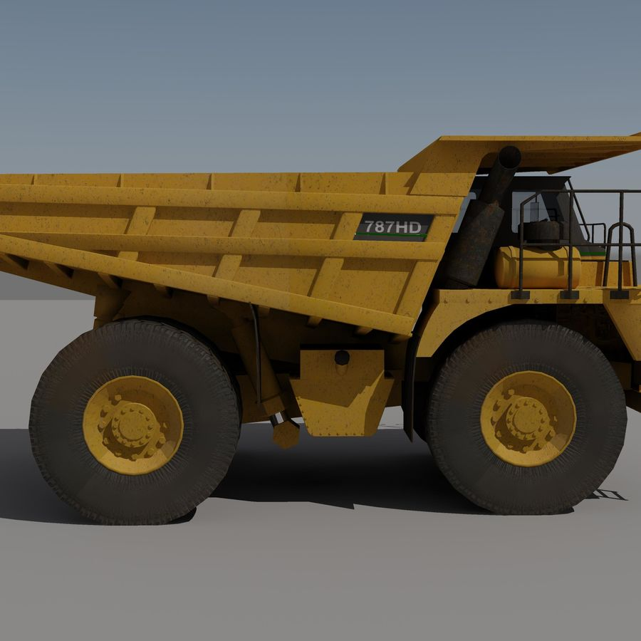 Dump Truck 2 royalty-free 3d model - Preview no. 1