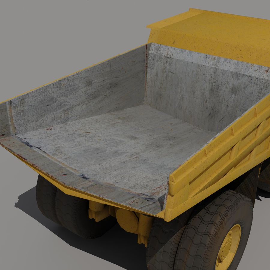 Dump Truck 2 royalty-free 3d model - Preview no. 9