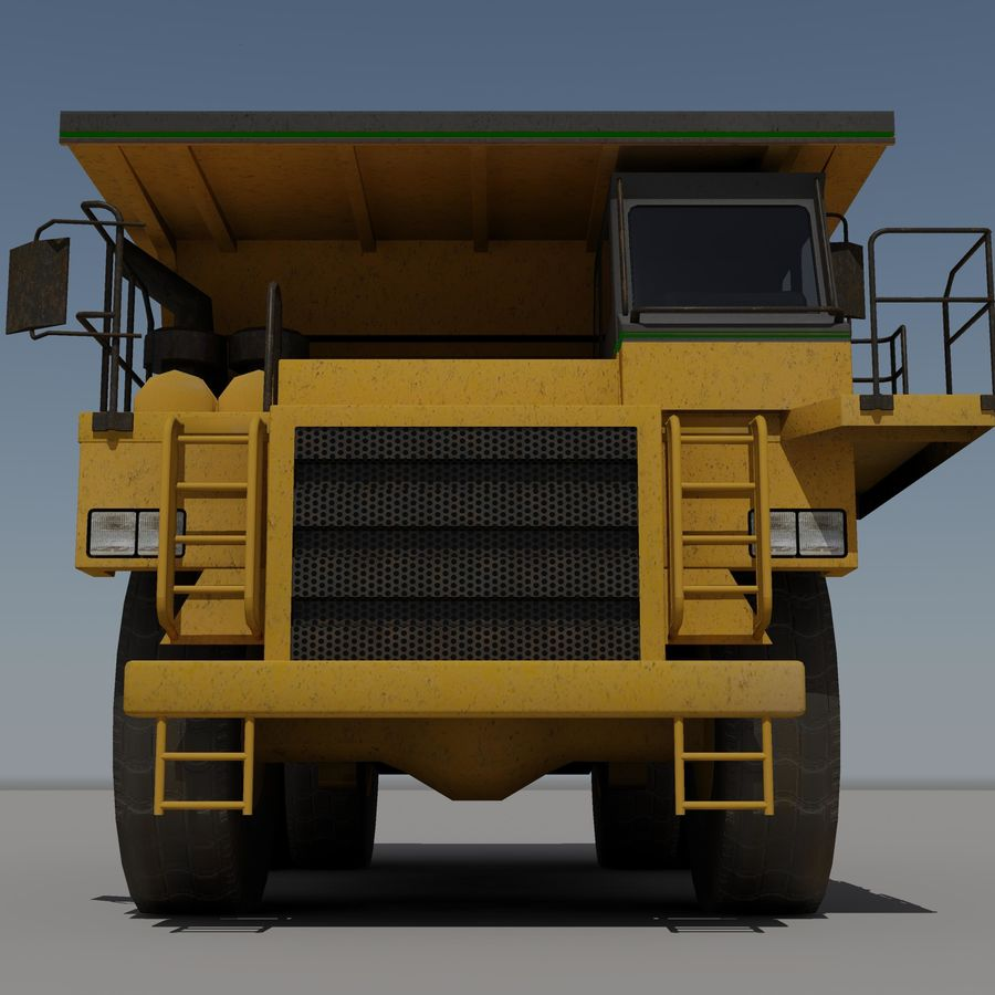 Dump Truck 2 royalty-free 3d model - Preview no. 7