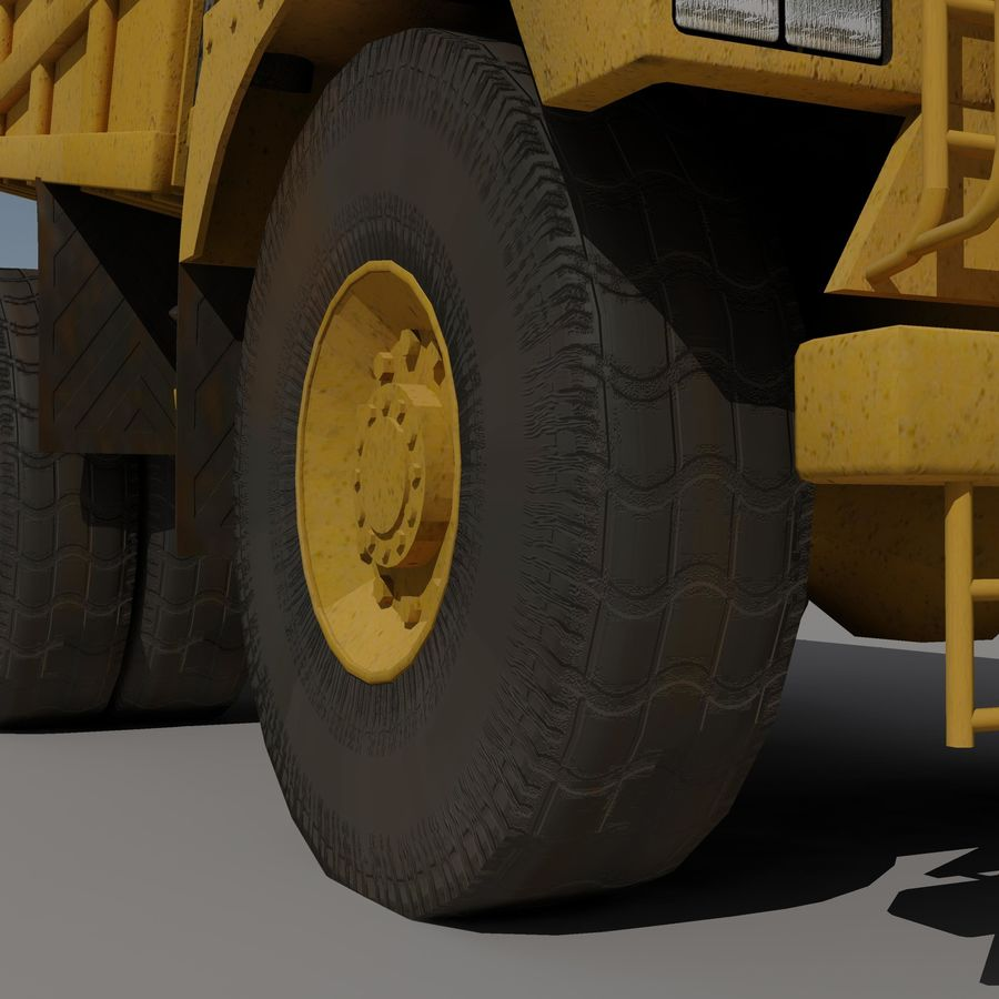 Dump Truck 2 royalty-free 3d model - Preview no. 6