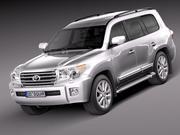 Toyota Landcruiser 2013 3d model