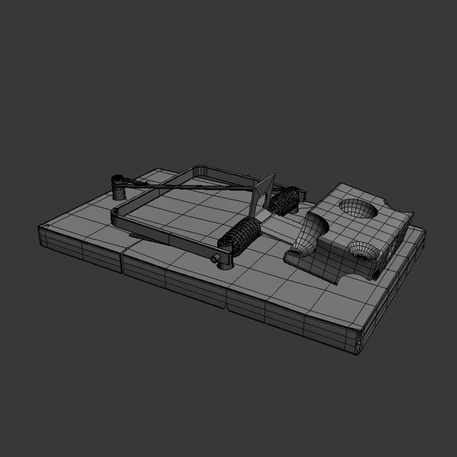 Rat Trap royalty-free 3d model - Preview no. 5
