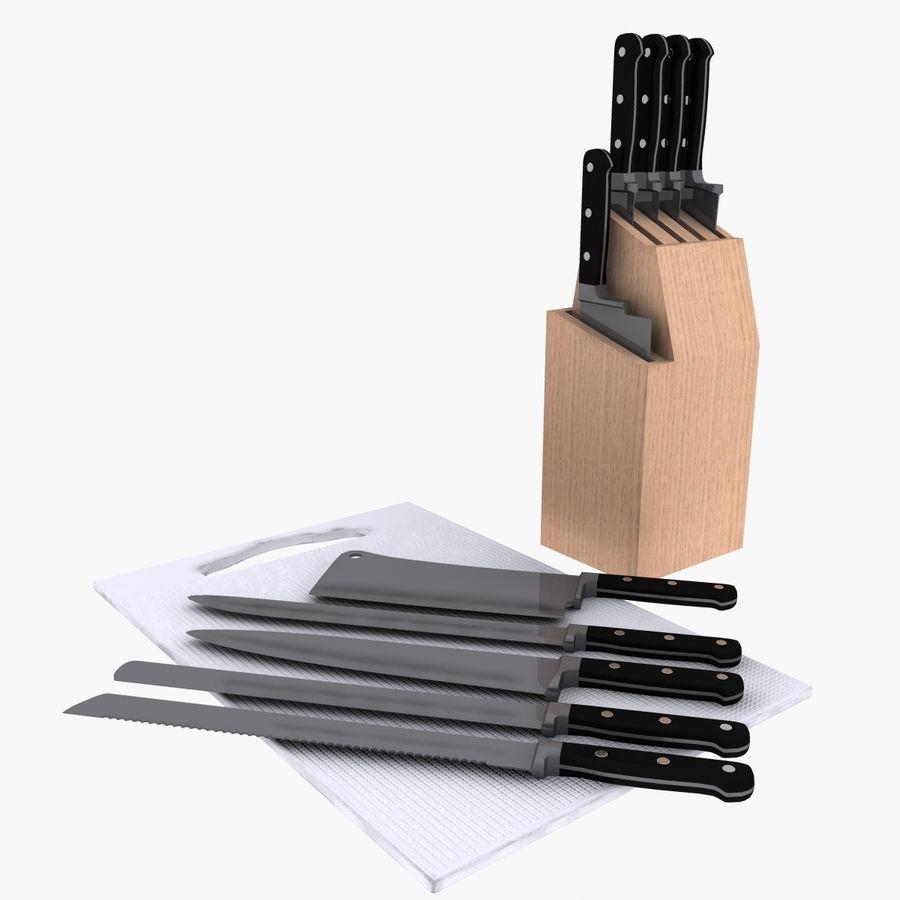 knivar royalty-free 3d model - Preview no. 1