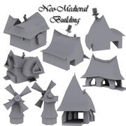 Нео-Средневековый Пакет 3d model