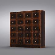 도자기 반 - Andover Cabinet 3d model