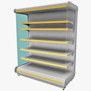Supermarket Shelf V2 3d model