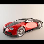 부가티 베이론 3d model