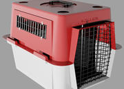 Draagbare kennel 3d model