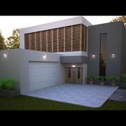 모던 하우스 2.0 3d model