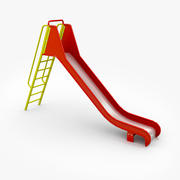 Grande Slide Com Escada 3d model