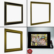 Picture Frames Collection v2 3d model
