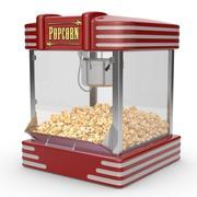 팝콘 기계 3d model