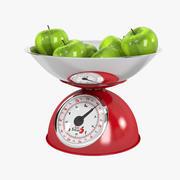 EatSmart Precision Retro Mechanical Kitchen Scale 3d model
