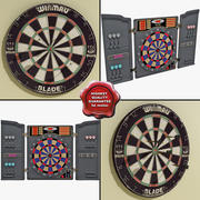 Dartboards Collection 3d model